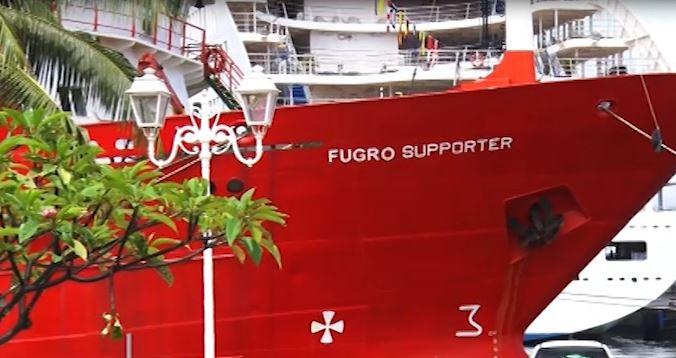Le Fugro Supporter à Papeete