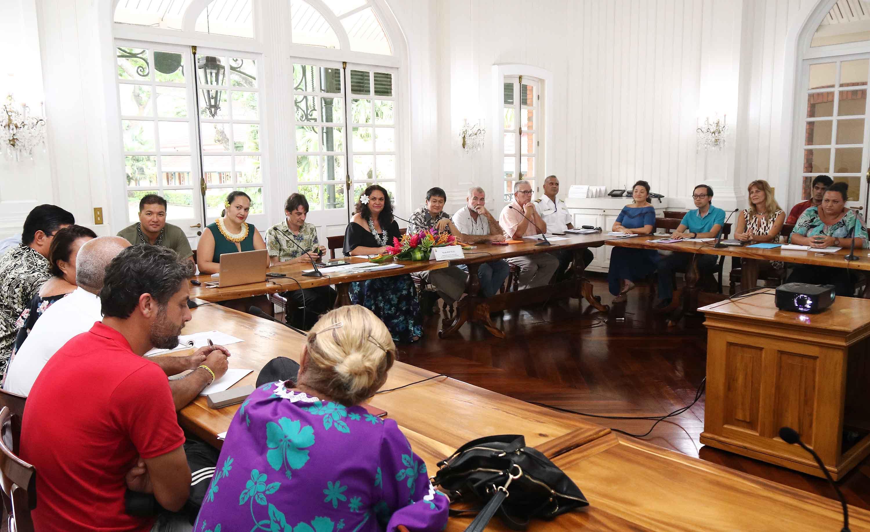 Le directeur du Port autonome participe à la réunion préparatoire pour l'arrivée de paquebots de grande capacité