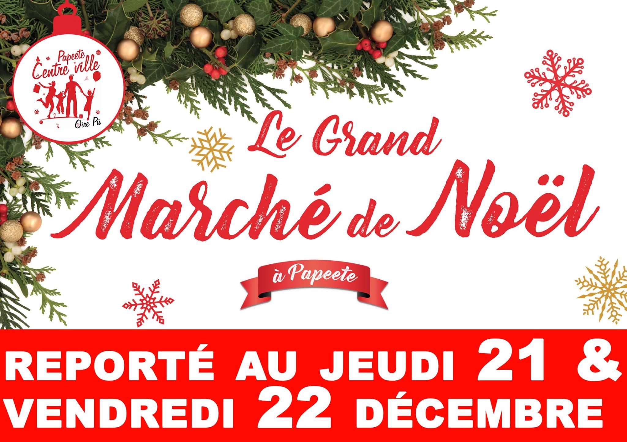 Marché de Noel de Papeete reporté
