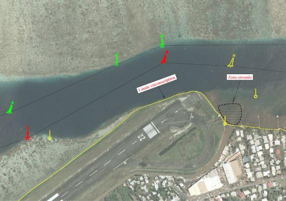 Plan du canal de Faa'a