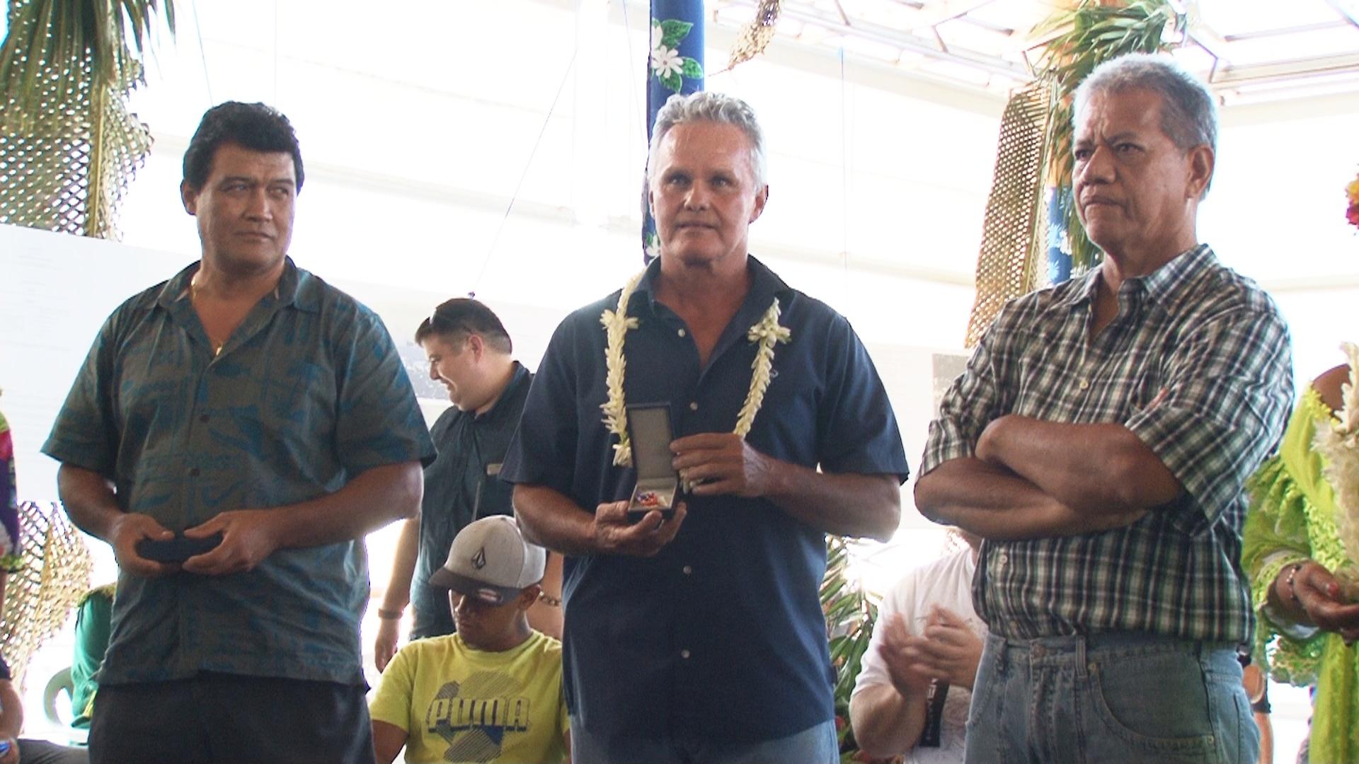 Les agents récompensés par la médaille 14