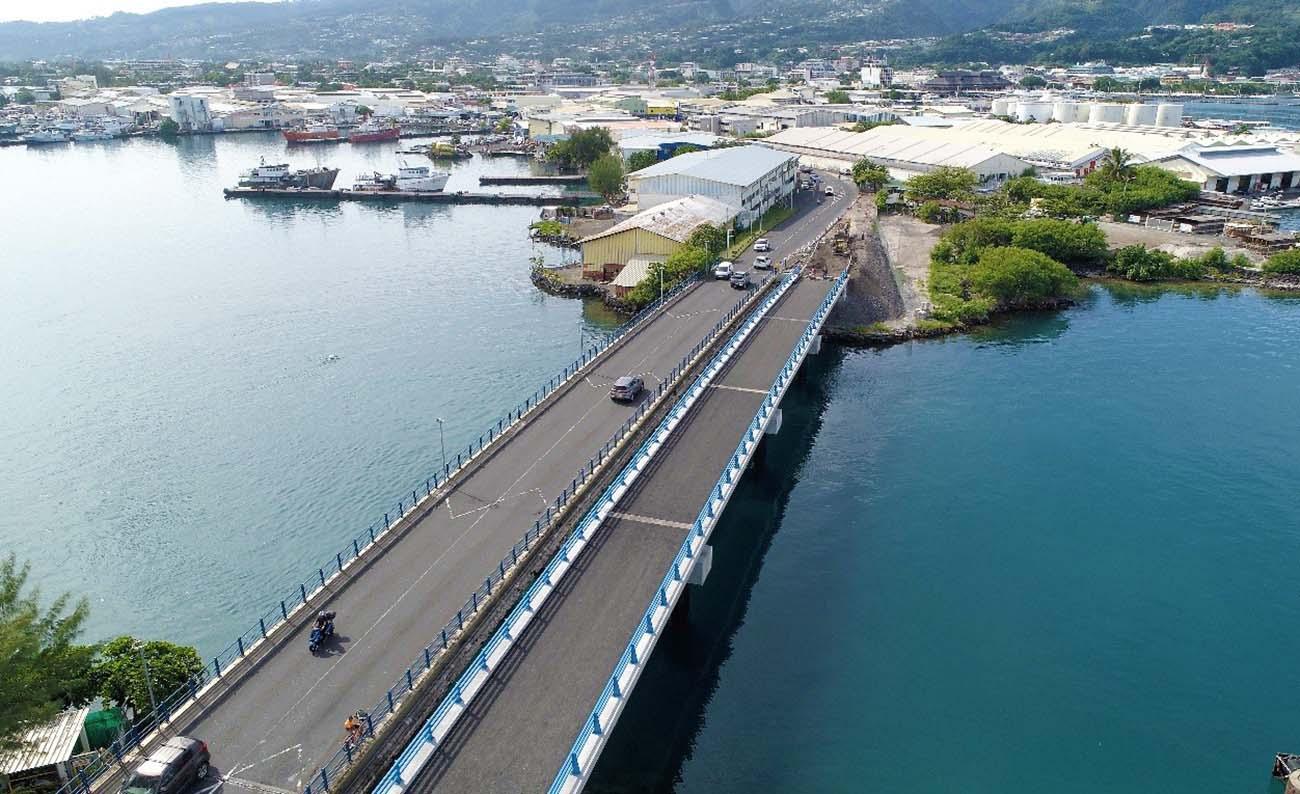 Inauguration du pont