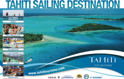 Tahiti Sailing : Crédit photo Archipelagoes