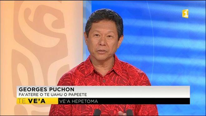 Georges Puchon directeur du Port autonome de Papeete