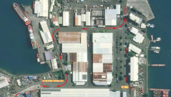 Prolongation Travaux Terminal de  commerce international